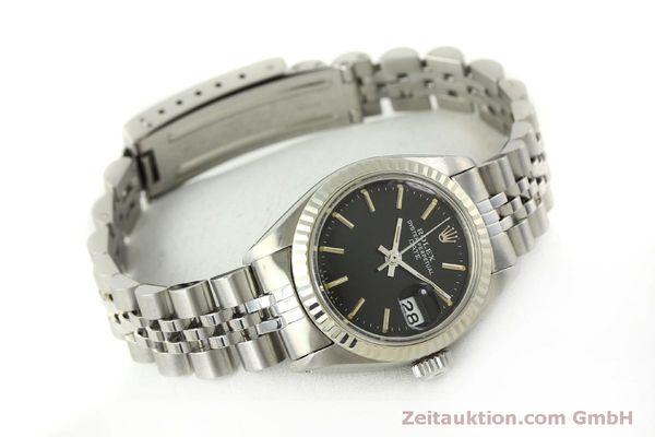 Used luxury watch Rolex Lady Date steel / white gold automatic Kal. 2030 Ref. 6917  | 151434 03