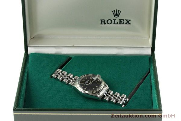 Used luxury watch Rolex Lady Date steel / white gold automatic Kal. 2030 Ref. 6917  | 151434 07