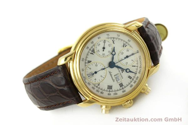 Used luxury watch Maurice Lacroix Croneo chronograph gold-plated automatic Kal. ETA 7750 Ref. 8183  | 151437 03