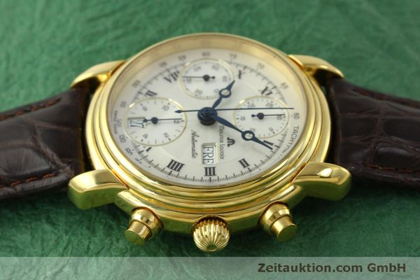 Used luxury watch Maurice Lacroix Croneo chronograph gold-plated automatic Kal. ETA 7750 Ref. 8183  | 151437 05