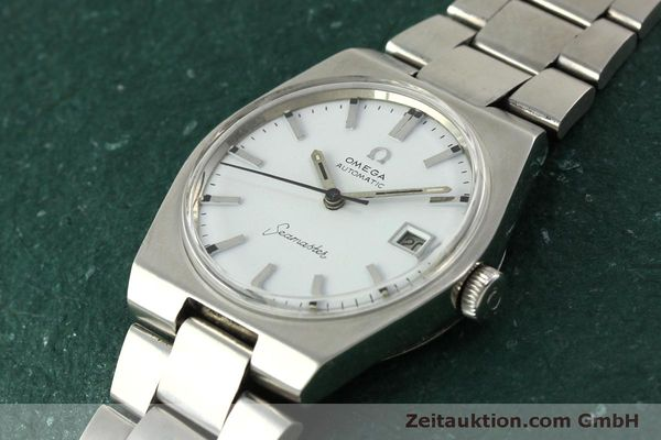 Used luxury watch Omega Seamaster steel automatic Kal. 1481 Ref. 166.099  | 151439 01