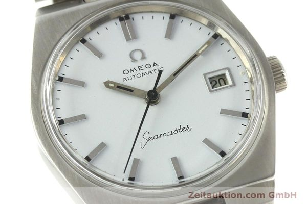 Used luxury watch Omega Seamaster steel automatic Kal. 1481 Ref. 166.099  | 151439 02