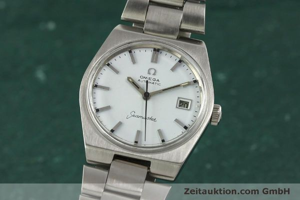 Used luxury watch Omega Seamaster steel automatic Kal. 1481 Ref. 166.099  | 151439 04