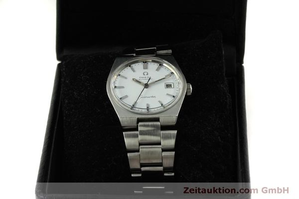 Used luxury watch Omega Seamaster steel automatic Kal. 1481 Ref. 166.099  | 151439 07
