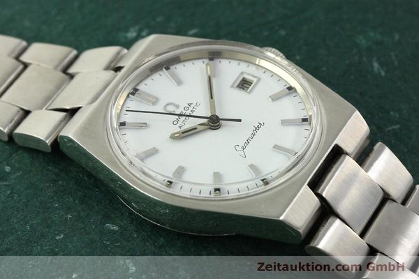 Used luxury watch Omega Seamaster steel automatic Kal. 1481 Ref. 166.099  | 151439 14