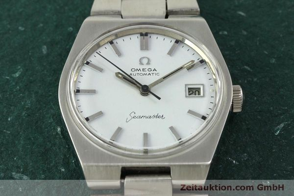 Used luxury watch Omega Seamaster steel automatic Kal. 1481 Ref. 166.099  | 151439 15