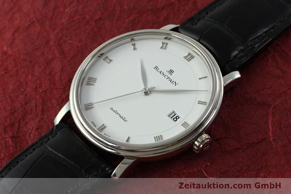 Used luxury watch Blancpain Villeret steel automatic Kal. 1150 Ref. 6223  | 151442 01