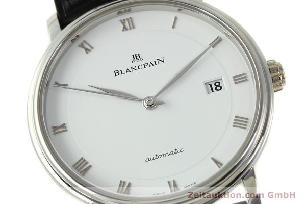 Used luxury watch Blancpain Villeret steel automatic Kal. 1150 Ref. 6223  | 151442 02