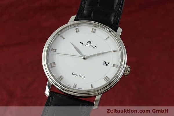 Used luxury watch Blancpain Villeret steel automatic Kal. 1150 Ref. 6223  | 151442 04