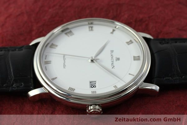 Used luxury watch Blancpain Villeret steel automatic Kal. 1150 Ref. 6223  | 151442 05