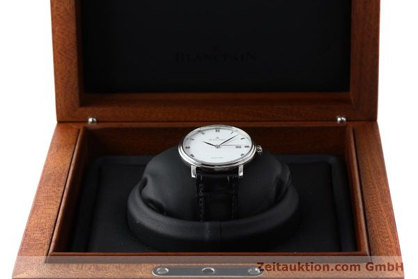 Used luxury watch Blancpain Villeret steel automatic Kal. 1150 Ref. 6223  | 151442 07
