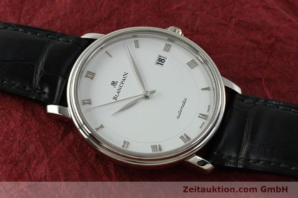 Used luxury watch Blancpain Villeret steel automatic Kal. 1150 Ref. 6223  | 151442 19