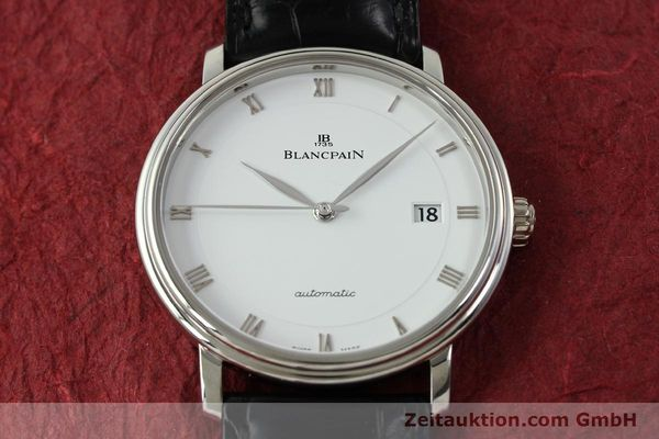 Used luxury watch Blancpain Villeret steel automatic Kal. 1150 Ref. 6223  | 151442 20