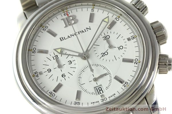 Used luxury watch Blancpain Leman chronograph steel automatic Kal. 1185  | 151444 02