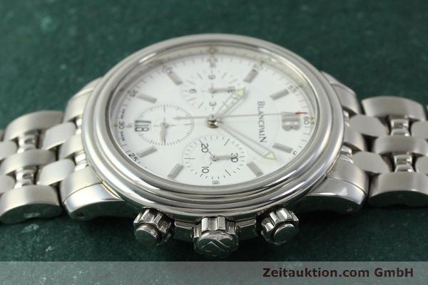 Used luxury watch Blancpain Leman chronograph steel automatic Kal. 1185  | 151444 05