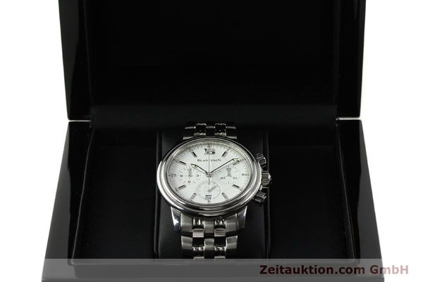 Used luxury watch Blancpain Leman chronograph steel automatic Kal. 1185  | 151444 07