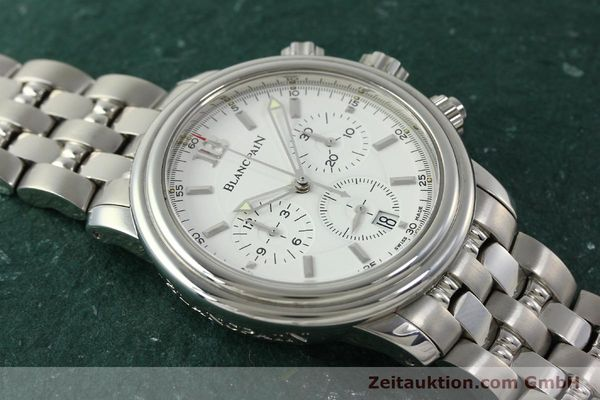 Used luxury watch Blancpain Leman chronograph steel automatic Kal. 1185  | 151444 13
