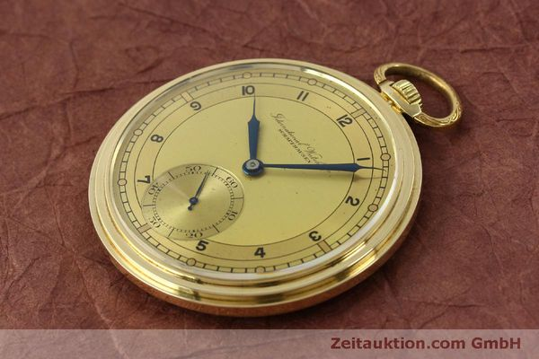 Used luxury watch IWC Taschenuhr 14 ct yellow gold manual winding Kal. C.97  | 151453 01