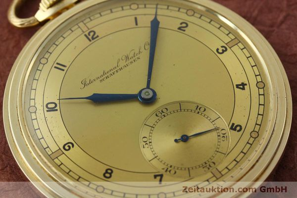 Used luxury watch IWC Taschenuhr 14 ct yellow gold manual winding Kal. C.97  | 151453 02