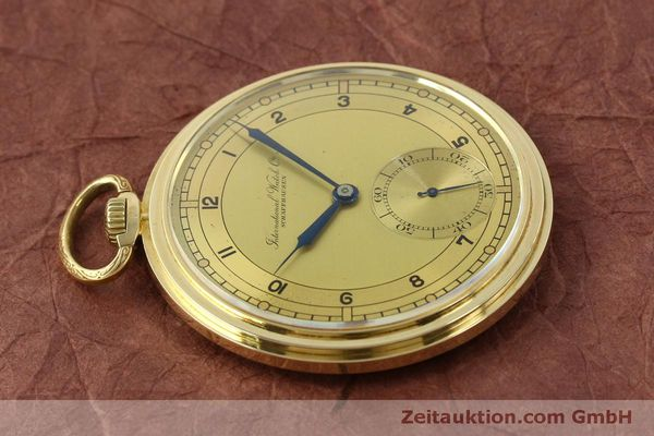 Used luxury watch IWC Taschenuhr 14 ct yellow gold manual winding Kal. C.97  | 151453 05