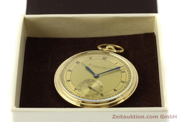 Used luxury watch IWC Taschenuhr 14 ct yellow gold manual winding Kal. C.97  | 151453 07