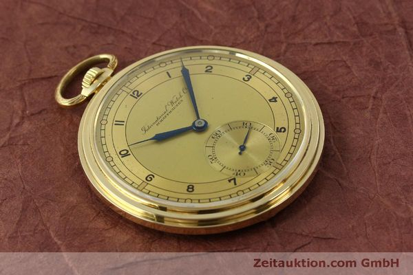 Used luxury watch IWC Taschenuhr 14 ct yellow gold manual winding Kal. C.97  | 151453 13