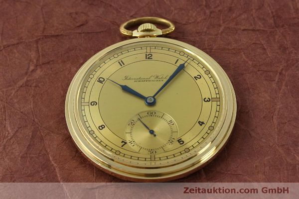 Used luxury watch IWC Taschenuhr 14 ct yellow gold manual winding Kal. C.97  | 151453 14