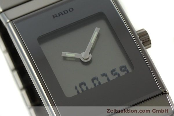 Used luxury watch Rado Diastar Ceramica chronograph ceramic quartz Kal. ETA 989.331 Ref. 196.0387.3  | 151454 02