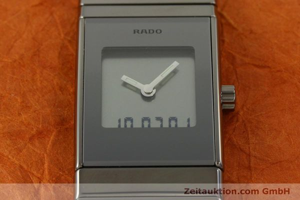 Used luxury watch Rado Diastar Ceramica chronograph ceramic quartz Kal. ETA 989.331 Ref. 196.0387.3  | 151454 16