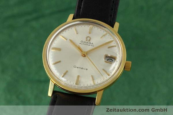 Used luxury watch Omega * gold-plated automatic Kal. 565 Ref. 162.009 SP VINTAGE  | 151457 04