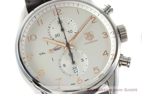 Used luxury watch Tag Heuer Carrera chronograph steel automatic Kal. 1887 Ref. CAR2012-0  | 151458 02