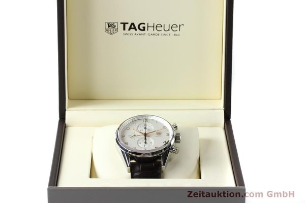 Used luxury watch Tag Heuer Carrera chronograph steel automatic Kal. 1887 Ref. CAR2012-0  | 151458 07