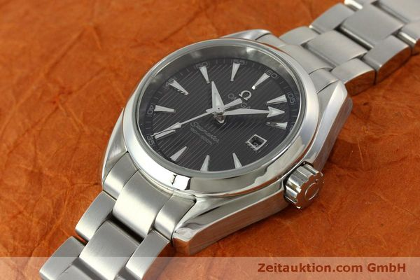 Used luxury watch Omega Seamaster steel quartz Kal. 1424 ETA 256461 Ref. 23110306106001  | 151474 01