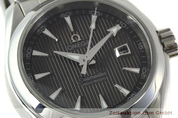 Used luxury watch Omega Seamaster steel quartz Kal. 1424 ETA 256461 Ref. 23110306106001  | 151474 02