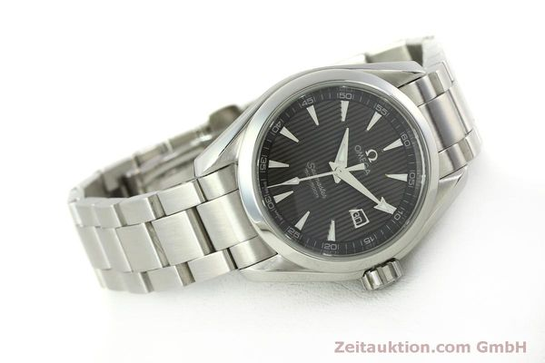 Used luxury watch Omega Seamaster steel quartz Kal. 1424 ETA 256461 Ref. 23110306106001  | 151474 03