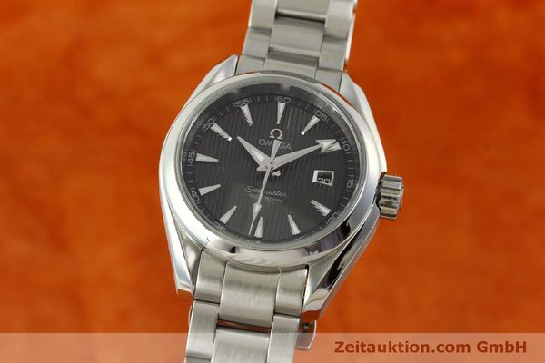 Used luxury watch Omega Seamaster steel quartz Kal. 1424 ETA 256461 Ref. 23110306106001  | 151474 04