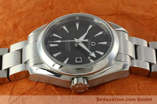 Used luxury watch Omega Seamaster steel quartz Kal. 1424 ETA 256461 Ref. 23110306106001  | 151474 05