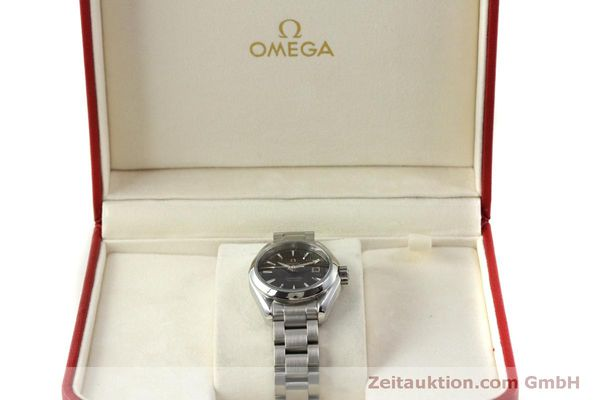 Used luxury watch Omega Seamaster steel quartz Kal. 1424 ETA 256461 Ref. 23110306106001  | 151474 07