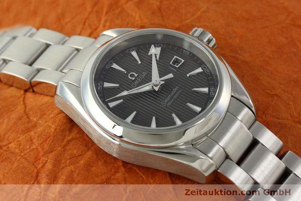 Used luxury watch Omega Seamaster steel quartz Kal. 1424 ETA 256461 Ref. 23110306106001  | 151474 14