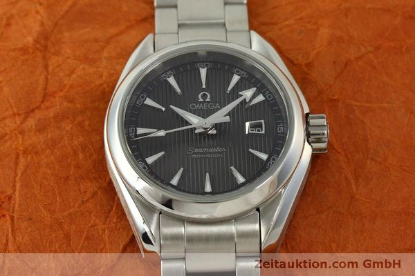 Used luxury watch Omega Seamaster steel quartz Kal. 1424 ETA 256461 Ref. 23110306106001  | 151474 15
