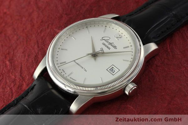 Used luxury watch Glashütte Senator steel automatic Kal. GUB 39-10 Ref. 39-11-03-03-04  | 151476 01