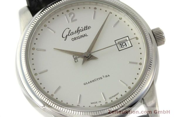 Used luxury watch Glashütte Senator steel automatic Kal. GUB 39-10 Ref. 39-11-03-03-04  | 151476 02