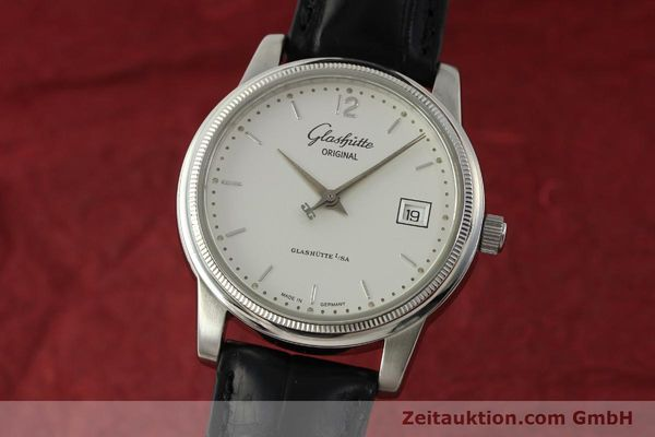 Used luxury watch Glashütte Senator steel automatic Kal. GUB 39-10 Ref. 39-11-03-03-04  | 151476 04