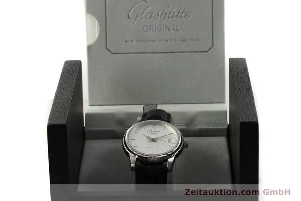 Used luxury watch Glashütte Senator steel automatic Kal. GUB 39-10 Ref. 39-11-03-03-04  | 151476 07