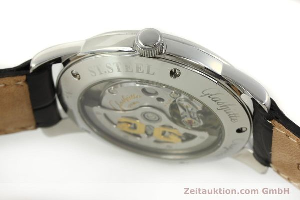Used luxury watch Glashütte Senator steel automatic Kal. GUB 39-10 Ref. 39-11-03-03-04  | 151476 11