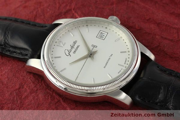 Used luxury watch Glashütte Senator steel automatic Kal. GUB 39-10 Ref. 39-11-03-03-04  | 151476 15