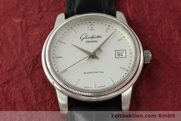 Used luxury watch Glashütte Senator steel automatic Kal. GUB 39-10 Ref. 39-11-03-03-04  | 151476 16