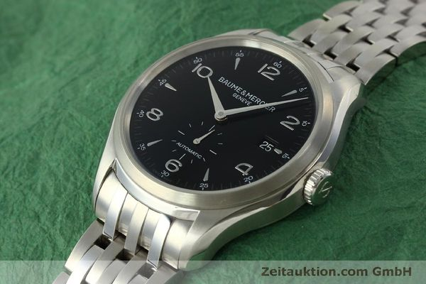 Used luxury watch Baume & Mercier Clifton steel automatic Kal. BM11260 Sellita SW260-1  | 151480 01