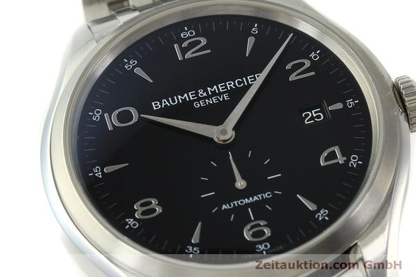 Used luxury watch Baume & Mercier Clifton steel automatic Kal. BM11260 Sellita SW260-1  | 151480 02