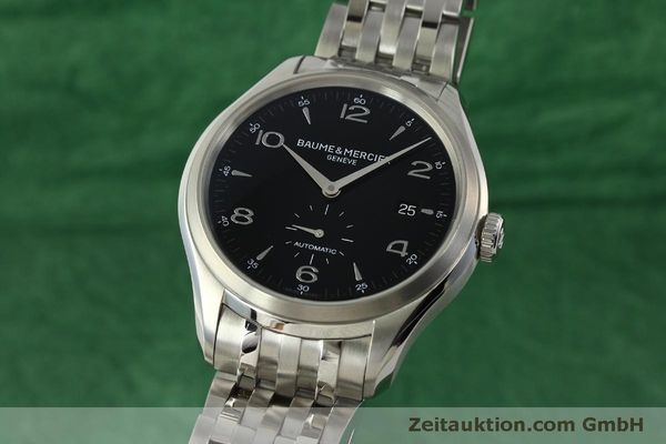 Used luxury watch Baume & Mercier Clifton steel automatic Kal. BM11260 Sellita SW260-1  | 151480 04